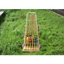Wooden Croquet Outdoor Games Set