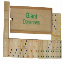Wooden Dominos 28 Pcs Set With Wooden Box