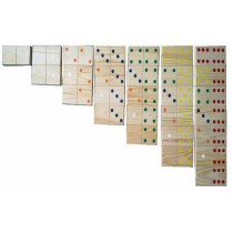 Wooden Dominos Set of 28 Pcs