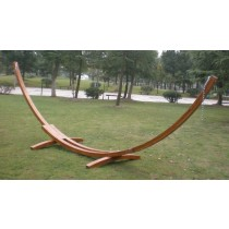 Wooden Hammock Arc Shape Stand