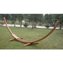 Wooden Hammock Arc Shape Stand