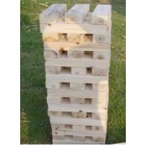 Wooden Hi-Tower 60 Blocks