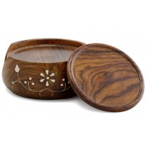 Wooden Round Coasters Set of 6 Pcs