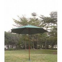 Wooden Single Top Umbrella(Size L 270 X W 270 Cm)