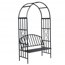 Wrought Iron Black Finish Durable Obelisks