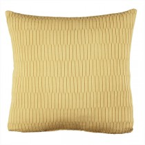Yellow 20 Inch Solid Square Cushion
