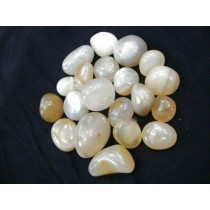 Duqaa Yellow Agate Tumbled Pebbles