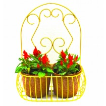 Yellow Decorative Wall Pot Holder Set