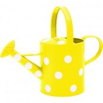 Yellow Polka Dot Watering Can