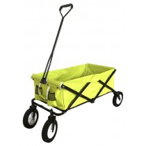 Yellow Polyester Folding Wheel Barrow