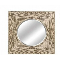 Zig Zag Design Wall Mirror