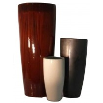 Durable 40 Inch Height Ceramic Planter