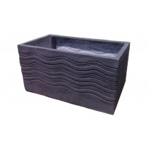 Durable Rectangle 18 Inch Fiberglass Planter
