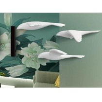 Eco-friendly feature and cute Flying Birds wall decoration (B)