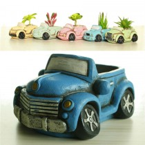 Elegant Car Shape Ceramic Pot Set Of 6 Pcs