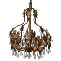 Elegant Style 5 Arms Crystal Chandelier