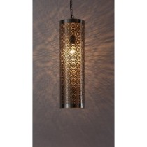 Etched circular lamp with beautiful design