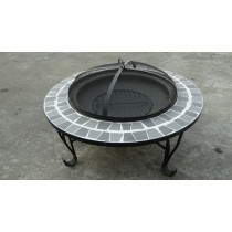 Outdoor Fire Pit, size 86 x 86 x 54 cm.