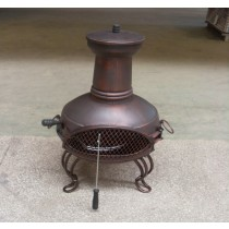 Fire pit for outdoor patio size 45 x  40 x 84cm , D35cm.