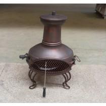 Fire pit for outdoor patio size 45 x  40 x 84cm , D35cm.