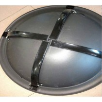 Portable Heat Resistant painted Steel Bowl.