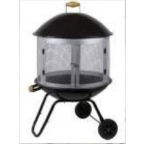 Portable Outdoor Fire Pit, 83 x 79 x 115cm