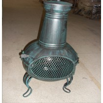 Fire pit for garden patio 53 x 50 x 140cm, D48cm.
