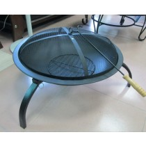 Fire pit for garden, size: 455 x 340 x 330mm