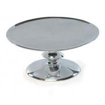 Flat Spiral Aluminum Cake Stand
