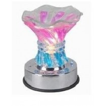 Flower Type Crystal Aroma Lamp with LED