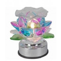 Flowering Petals Crystal Lamp with LED