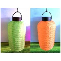 Foldable solar lantern camp lights