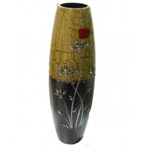 Decorative Cylindrical Shape Shaded color Flower Vase