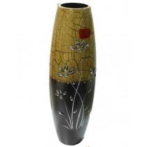 Decorative Cylindrical Shape Shaded color Flower Vase