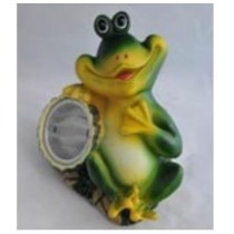 Frog solar light for garden animal solar light