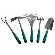 Plastic garden tool set, set of 5pieces