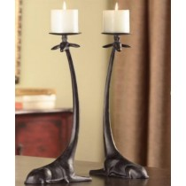 Attractive Giraffe  Design Candle Holder