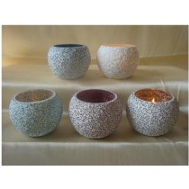 Aesthetic design  glass votive size-4 X 6