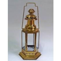 Glass with Golden Design Lanterns