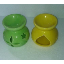 Green and Yellow Ceramic Aroma Diffuser