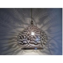 Half oval design hanging lamp size-20""