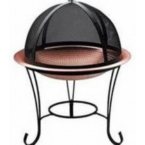 """16""""Small Hammered Copper Fire Pit"""