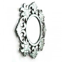 Silver Hand Crafted Decorative Wall Mirror