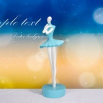 Blue handmade ballet beauty craft best gifts