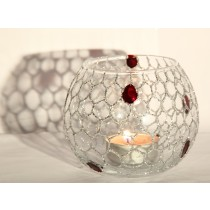 Hexagon Design Candle Holder