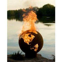 High Quality Globe Shape Steel Fire Pit