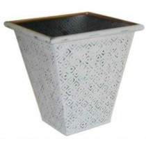 High Quality Metal Planter Size 25x25x30 CM
