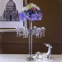 High Quality Tall Unique Crystal Candelabra