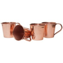 Stylish Plain Copper mug Inside Copper