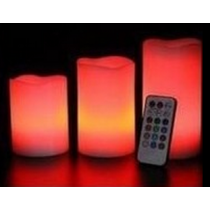 RGB led candle light with 18 key REMOTE CONTROL